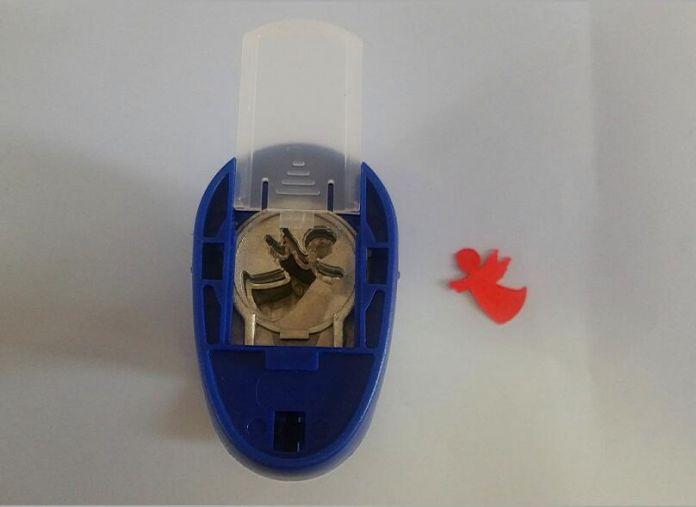 2-2.5 см ангел форме пены EVA ремесло удар бумаги удар резак для поздравительной открытки ручной работы, записки diy перфоратор бесплатная доставка