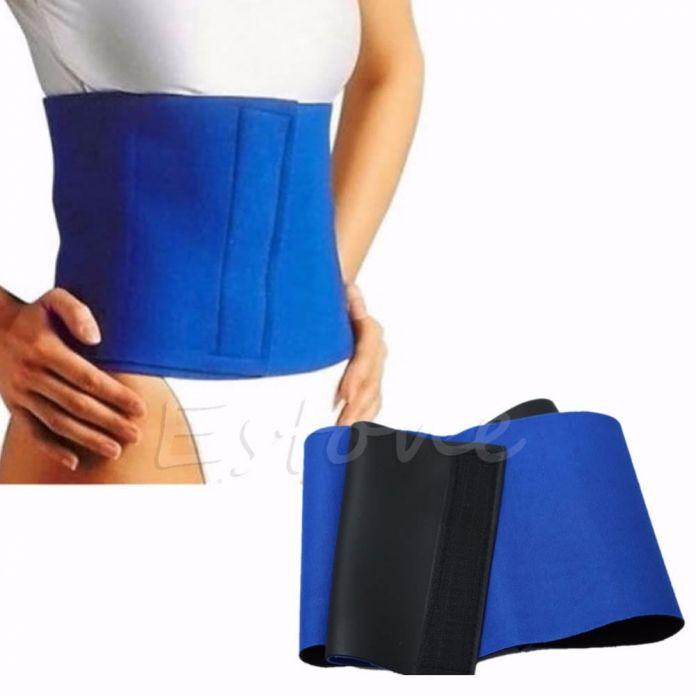 Талия Триммер Упражнение Сжигать Жир Пот Потеря Веса Обертывание Для Похудения Пояс Органа Shaper