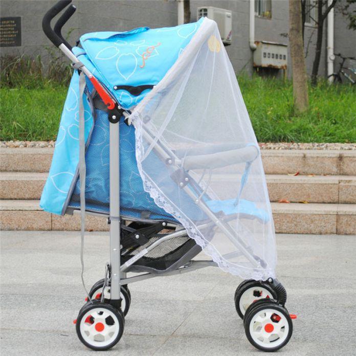 Нежные милые детские коляски коляска насекомых чистая безопасный младенцы защитной сеткой коляска аксессуары москитная сетка