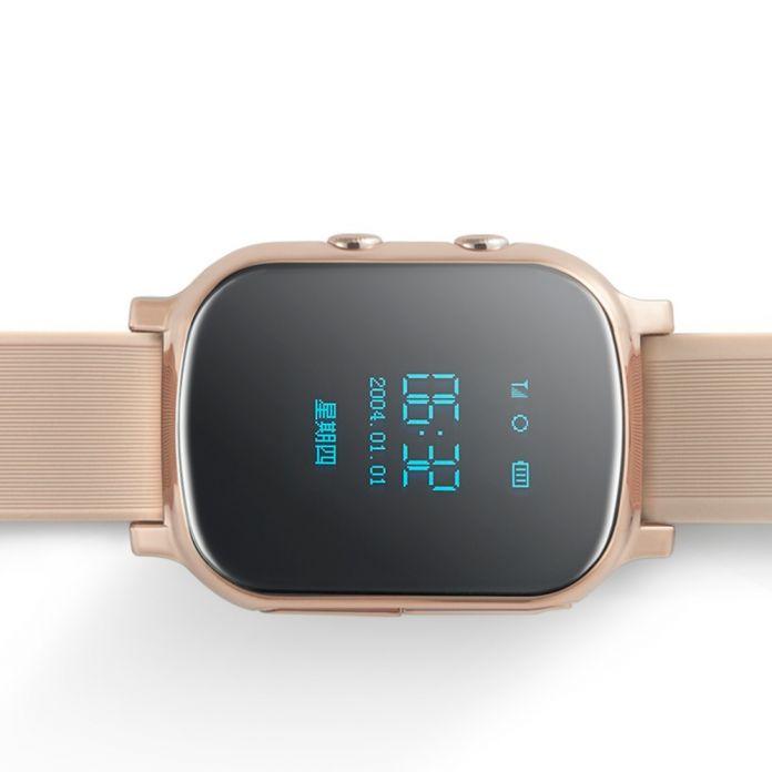 Смарт-Телефон-Часы Дети Ребенок Наручные Часы GSM GPRS GPS Локатор Трекер Анти-Потерянный Smartwatch Ребенок Гвардии для iOS Android