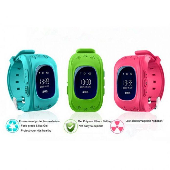 ГЕСТИЯ ГОРЯЧИЕ Smart watch Дети Ребенок Наручные Часы Q50 GSM GPRS GPS Локатор Трекер Анти-Потерянный Smartwatch Ребенок Гвардии для iOS Android