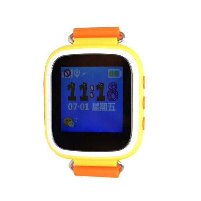 2016 Детей Smart watch 1.44 дюймов Anti-Потерянный Пульт Дистанционного Монитор Smartwatch С SOS LBS базовая станция Rrack дети подарок