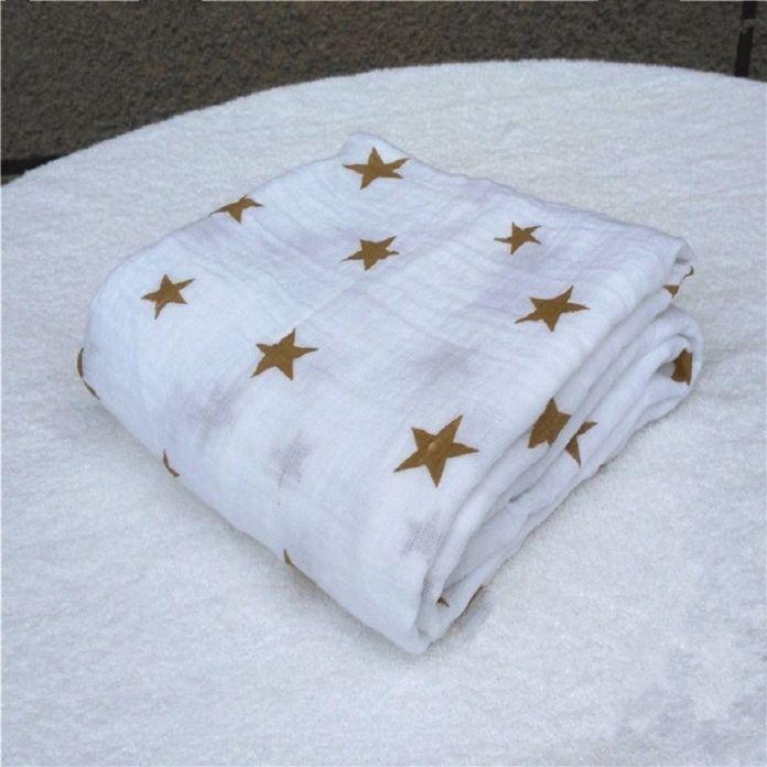 Аден Анаис Муслин Пеленание Одеяло Новорожденный Хлопка муслин одеяло постельное белье 120x120 см Марли Пеленать Полотенце Мульти-функциональные