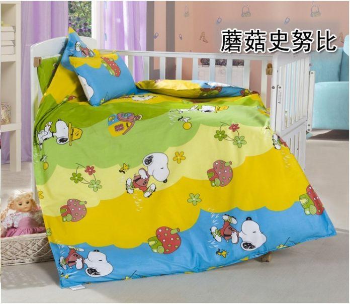 Акция! 3 ШТ. Китти Микки детское постельное белье набор bebe jogo де кама кроватка детская кроватка постельных принадлежностей (Пододеяльник + Лист + наволочка)