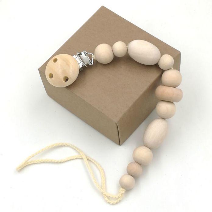 3 конструкции круглой деревянной бусы соску клип, деревянные бусины манекена цепи ребенка teether, эко геометрическая бисера подарок душа NT141