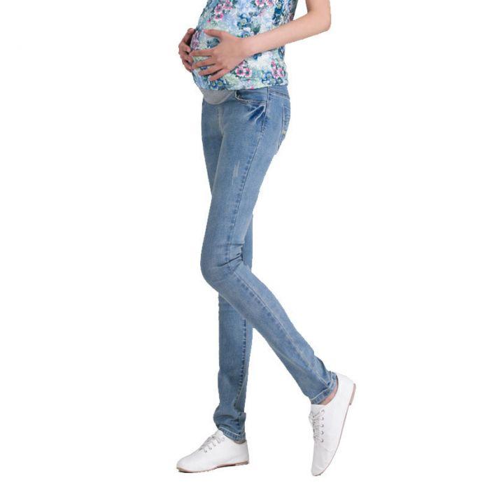 ZTOV Denim Материнство Джинсы Плюс размер Упругие талии Длинные Брюки брюки для беременных Беременность одежда для Беременных Брюки 8148 #