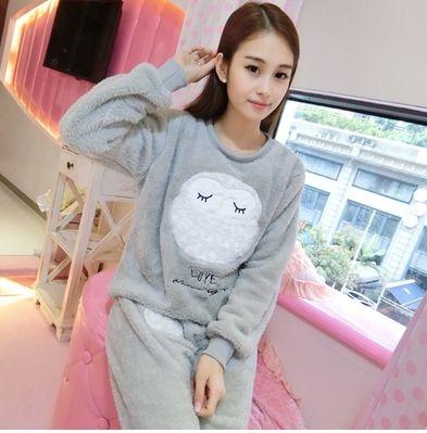 Горячие продажа зима хорошее качество утолщение беременных пижамы фланелевые одежда для беременных набор коралловый флис пижамы материнства пижамы