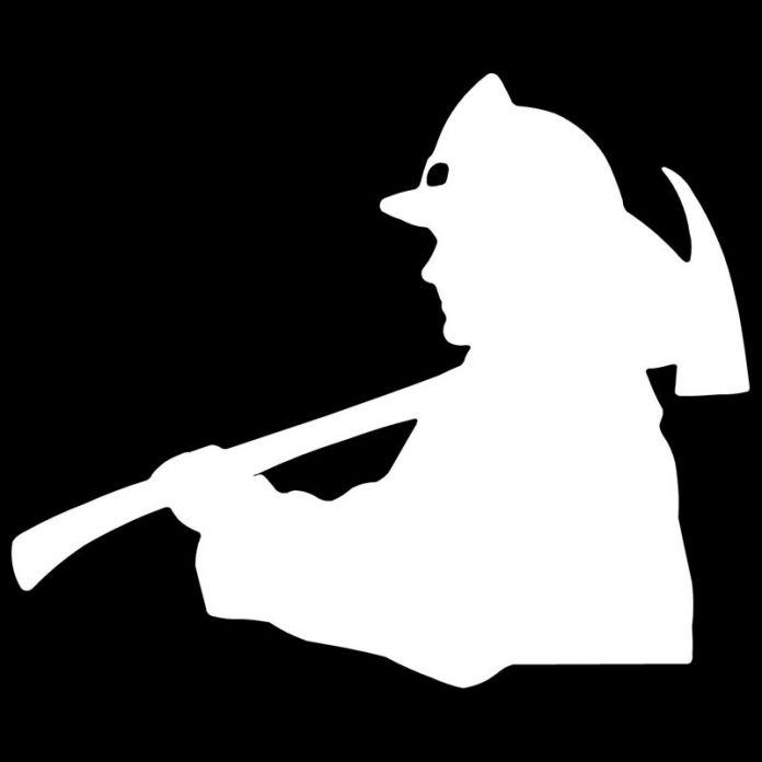 11.5*9.6 СМ Пожарный Пожарного Автомобиля Стикер Наклейка Мультфильм Светоотражающие Декоративные Аксессуары Для Автомобилей Мотоцикл Наклейки C2-0485