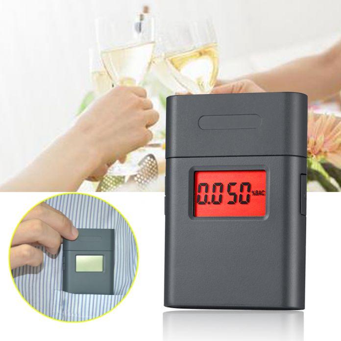 Горячая! Новинка мини-цифровых измеритель алкоголя с 360 град. вращая рупором / двойной алкоголя в выдыхаемом воздухе AT / 838