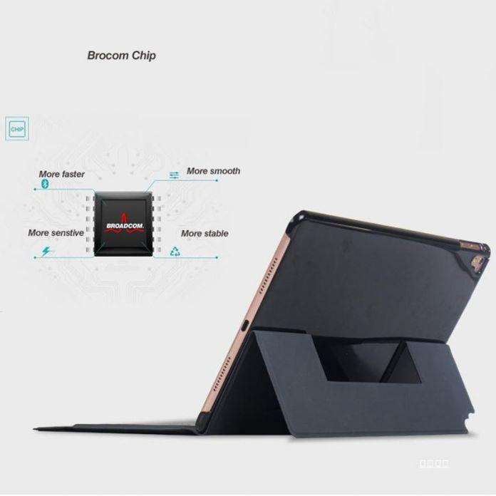 Для iPad Pro 9.7 Случае-Ультра-тонкий Смарт Стенд Фолио Обложка Беспроводная Bluetooth Клавиатура для Apple iPad Pro 9.7 10,1-дюймовые Планшеты