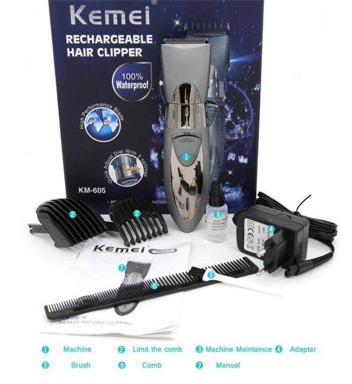 T013 kemei профессиональная машинка для стрижки волос электрический триммер волос водонепроницаемый волосы станок для бритья стрижка бороды электрическая бритва