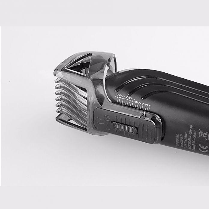 Kemei KM-1832 5 в 1 Водонепроницаемый Аккумуляторная Электрическая Бритва Новый Резак Электрические Волос Машинки Для Стрижки Волос в Носу Триммер Для Мужчин