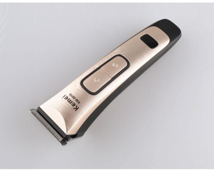 Kemei 2016 новый аккумуляторная машинка для стрижки волос универсальный напряжение волос триммер 1.5 Час быстрая зарядка со СВЕТОДИОДНЫМ дисплеем
