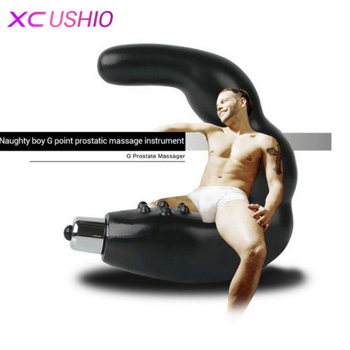 Анальная секс игрушка для мужчин, мастурбатор для стимуляции простаты, стимулятор предстательной железы, вибромассажер, силиконовый дилдо, вибратор, интим товар, быстрая доставка