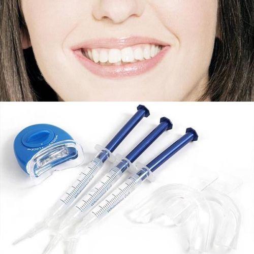 3D Белый Отбеливание Зубов Гели Сильным Домашний Комплект Зубов Отбеливатель Отбеливание Зубов СВЕТОДИОДНЫЕ Лазерная Лотки Стоматологических Гель Света