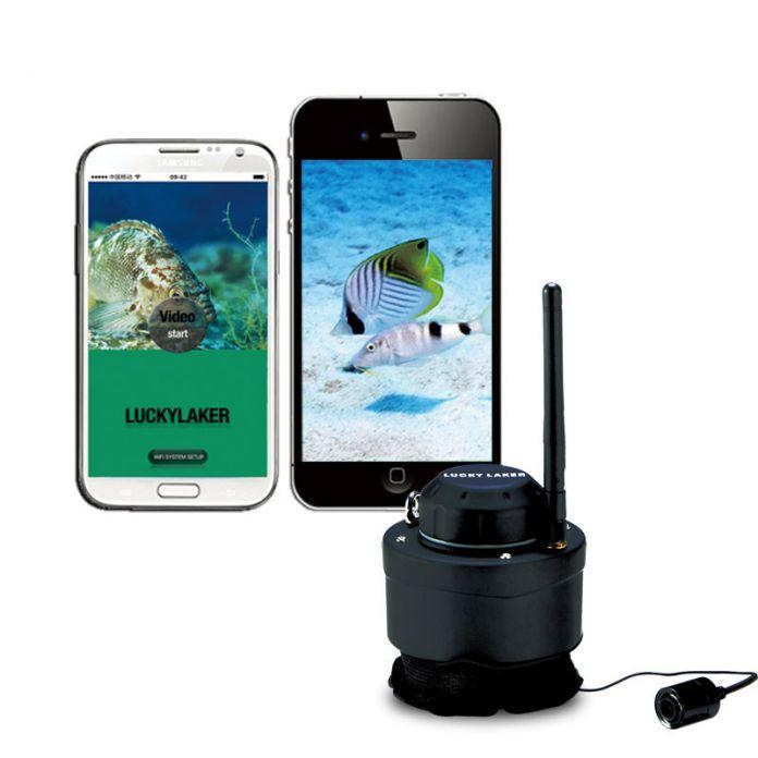 ПОВЕЗЛО Wi-Fi Рыбалка Камеры 80 м беспроводной диапазон Подводная Камера Эхолот FF3309