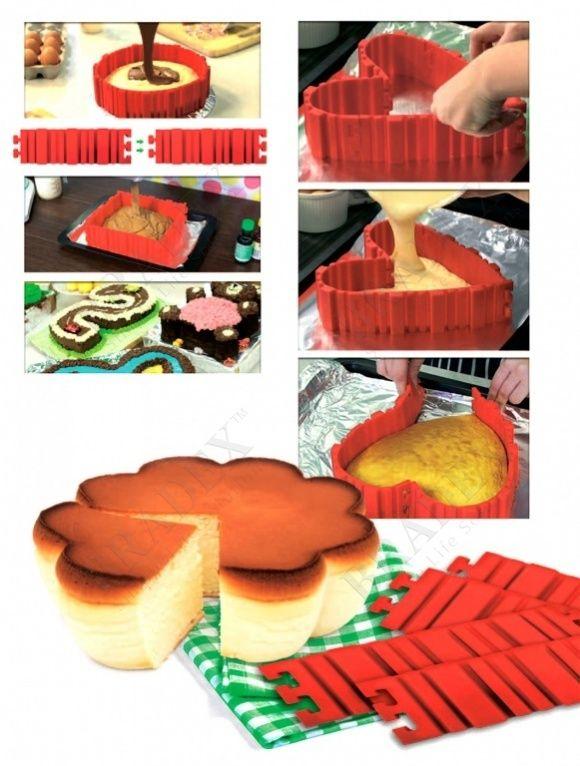 Форма-трансформер для выпечки «ЗАТЕЯ» (Bake snake)