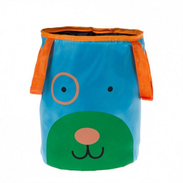 Корзина автомобильная для хранения «ПЕСИК» (DOG Animal toy storage bucket for car.Material: 420D oxford +steel wire,)