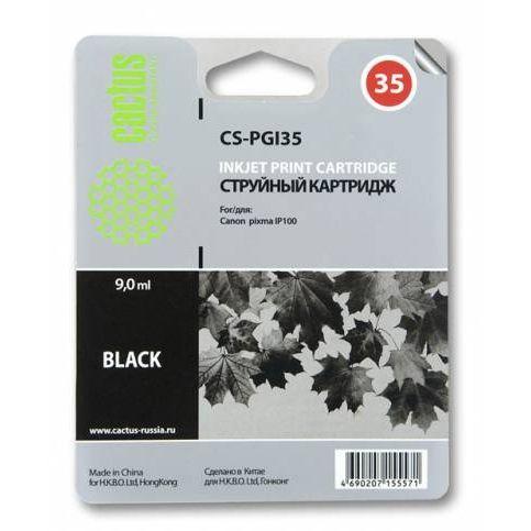 Картридж струйный Cactus CS-PGI35 черный для Canon Pixma IP100 (9мл)