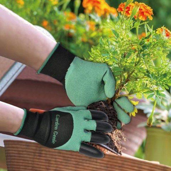 Многофункциональные садовые перчатки GARDEN GENIE GLOVES