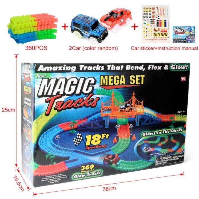 Волшебный трек MAGIC Tracks                                                                                         (Количество деталей: 366 шт  )