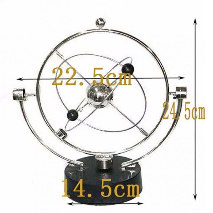 Кинетическая Орбитальная Ньютон маятник модели офисной дом украшение стола Рождественский подарок детские развивающие игрушки для детей