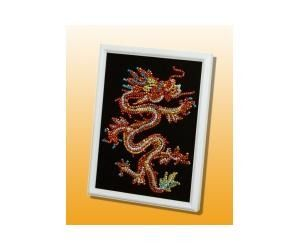 фото Мозаика из пайеток 'Восточный дракон'