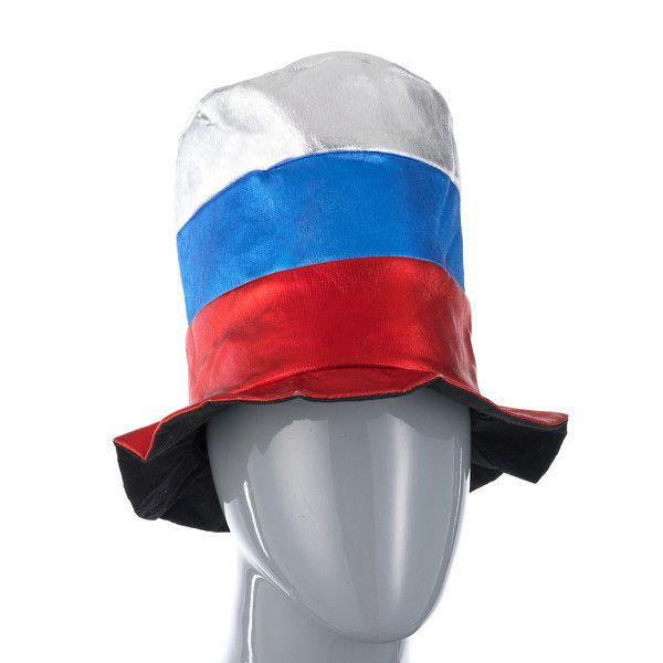 фото колпак шутовской блестящий (Российский флаг)