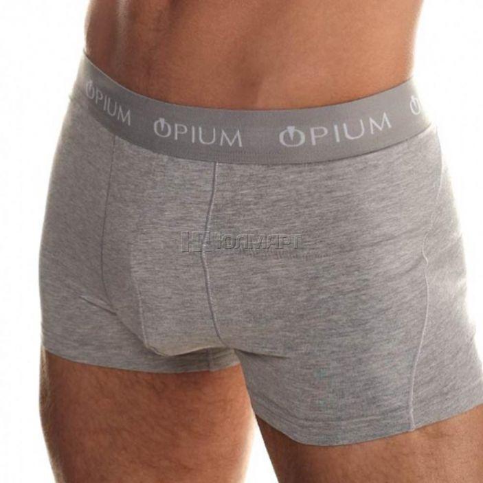 фото Трусы-боксеры мужские Opium R07, melange blue (52) XL [6900501504042]