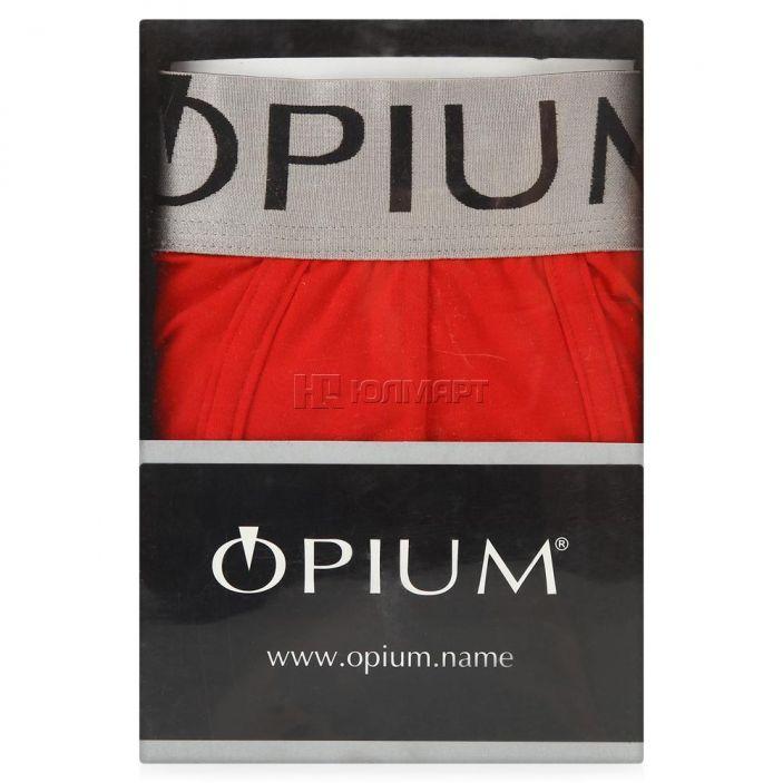 фото Трусы-боксеры мужские Opium R06, красный (48) M [6900501403024]