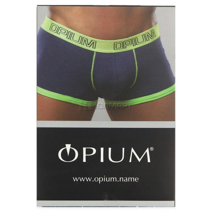 фото Трусы-боксеры мужские Opium R47, джинс (46) S [8005000200001]