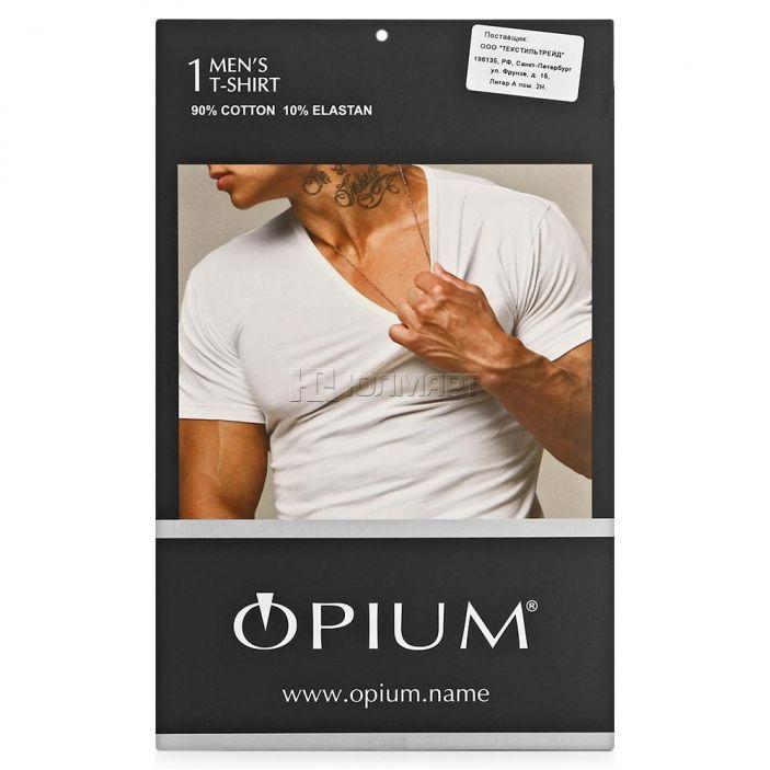 фото Футболка мужская Opium R37, черный (46) S [6037100000078]