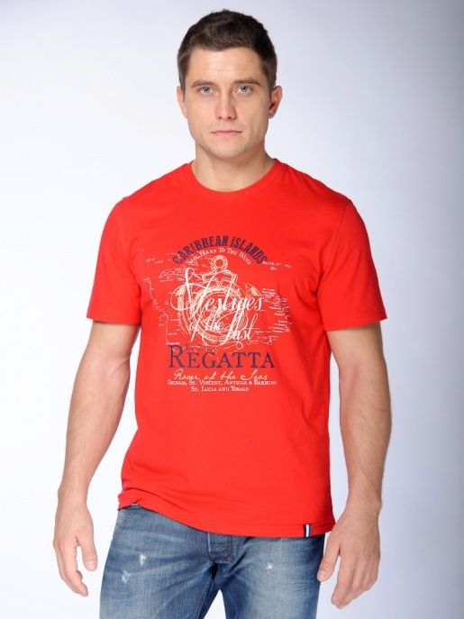 фото Фуфайка(футболка) муж BeGood SS15-UBL-MTS-989 красный р.48