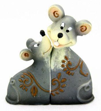 фото 2 мыши сборные 12см