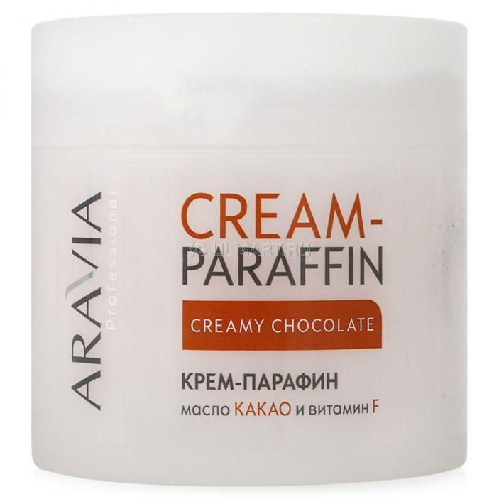 фото крем-парафин (холодный парафин) Aravia Professional Сливочный шоколад, 300 мл, с маслом какао и витамином F [4013] [4670008491375]