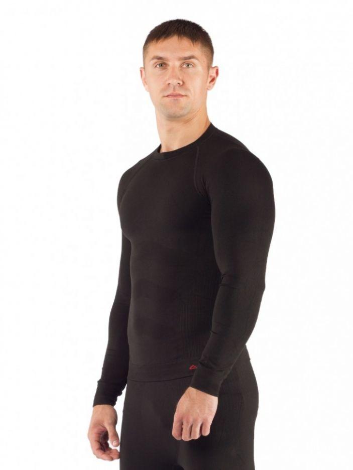 фото Футболка  мужская Lasting Apol, черная (размер L-XL)