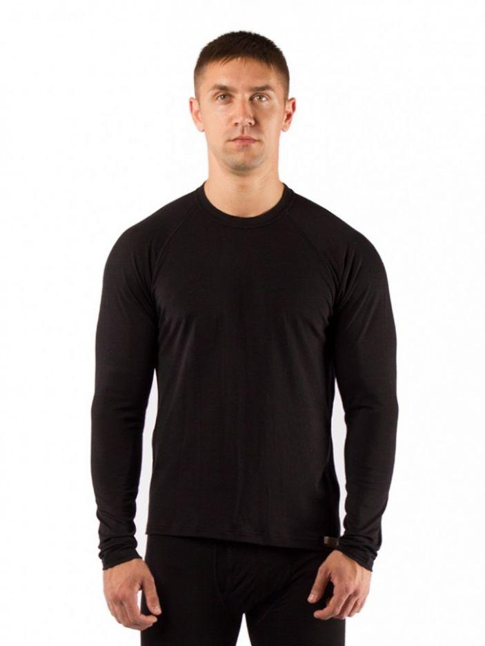 фото Футболка  мужская Lasting Atar, черная (размер M)