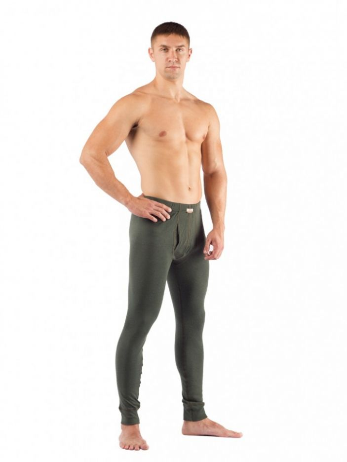 фото Штаны мужские Lasting REX, зеленые (размер M)