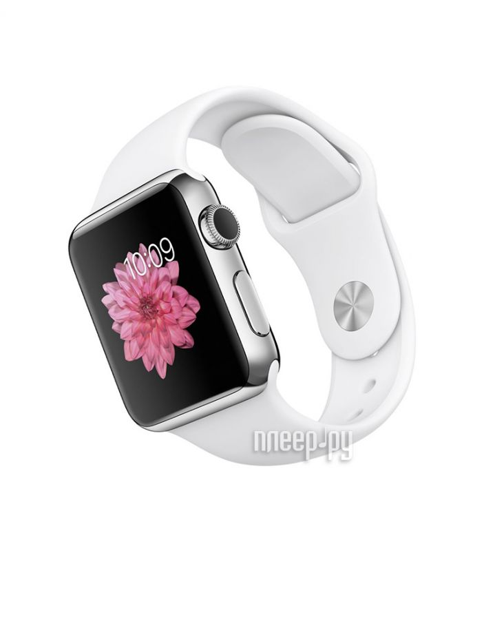 фото APPLE Watch 38mm with White Sport Band MJ302RU/A