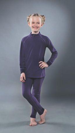 фото Водолазка детская на молнии GUAHOO Fleece Basic 702 Z/DVT [L (36)/140-72-66]