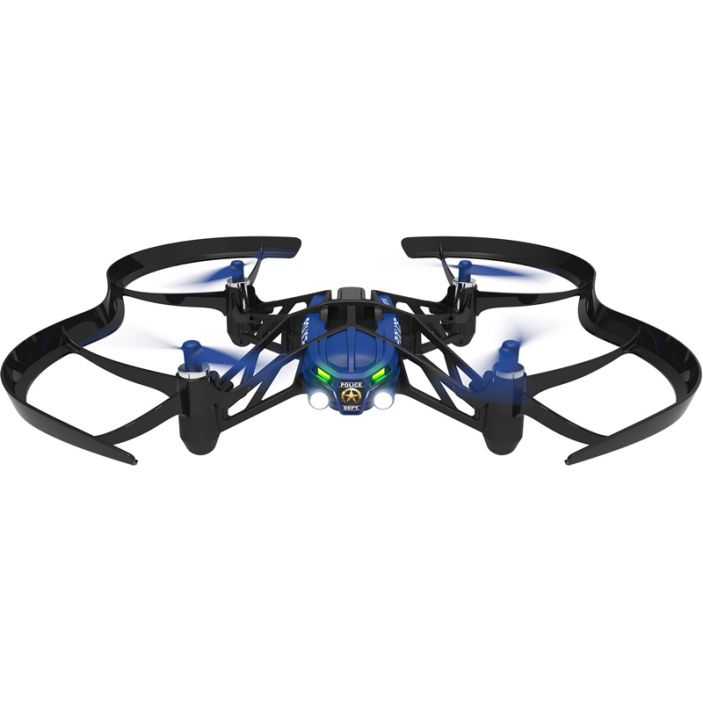 фото Квадрокоптер Parrot AIRBORNE NIGHT DRONE SWAT BLUE с подсветкой (PF723106AA)