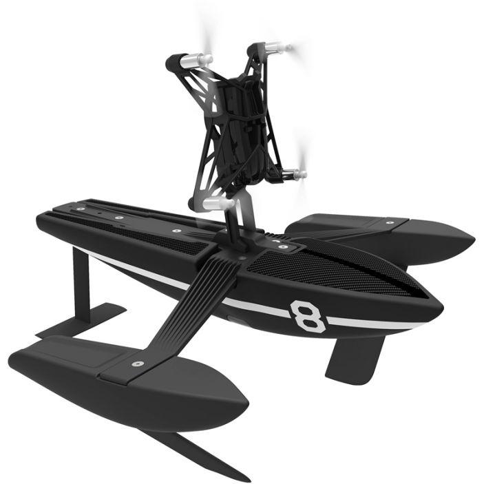 фото Корабль с минидроном Parrot HYDROFOIL DRONE ORAK BLACK (PF723400AA)
