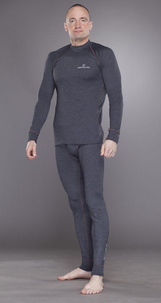 фото Destroyer футболка с длинным рукавом мужские Tracking [XXL, серый]
