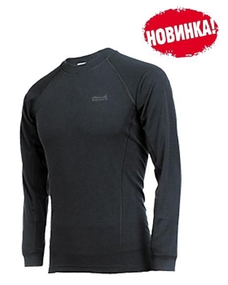 фото Tramp футболка Fast Dry LS длинный рукав [черный, размер XL]