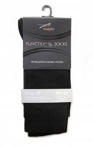 фото Термоноски мужские NORVEG Functional Socks Silver  цвет черный 1FSC-002 [р.45-47]
