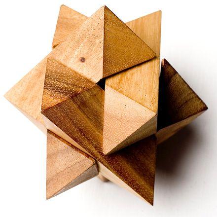 фото Головоломка деревянная - Эпсилон