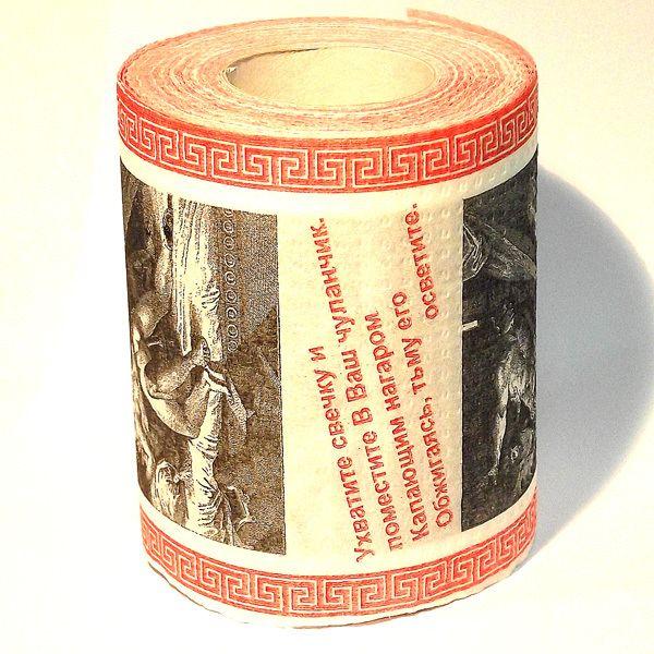 фото Туалетная бумага Эротическая гравюра (мини) Часть 2