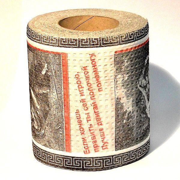 фото Туалетная бумага Эротическая гравюра (мини) Часть 3