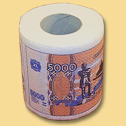 фото Туалетная бумага 5000 руб. мини
