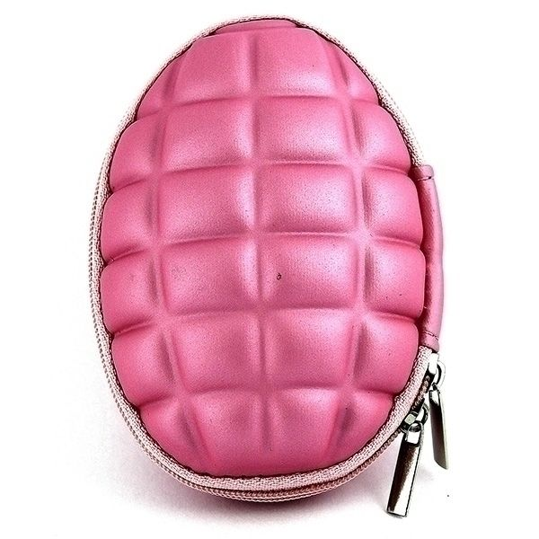фото Ключница в виде розовой гранаты